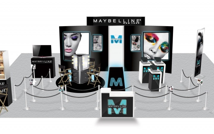 Maybelline New York 2012 event set