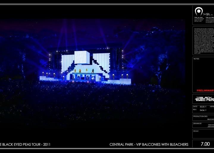 Black Eyed Peas – Central Park