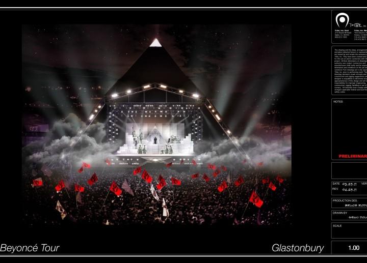 Beyonce – Glastonbury 2011