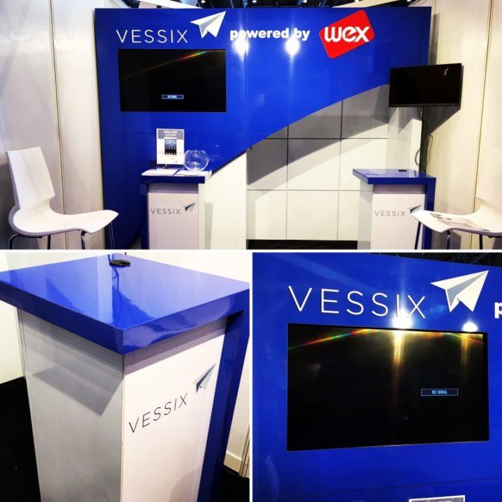 VESSIX – Custom 10×20 display